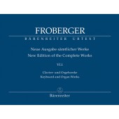FROBERGER  J.J. NEW EDITION OF THE COMPLETE WORKS VOL V.6.1 PIANO /ORGUE