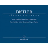 DISTLER H. OEUVRES COMPLETE VOL 1 ORGUE