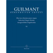 GUILMANT A. OEUVRES D'ORGUE VOL 6 ORGUE