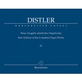 DISTLER H. OEUVRES COMPLETE VOL 4 ORGUE
