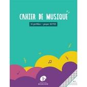 CAHIER DE MUSIQUE 12 PORTEES PAGES SEYES