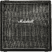 "BAFFLE MARSHALL 1960AX PAN COUPE 100 WATTS 4X12"""