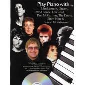 PLAY PIANO WITH JOHN LENNON, QUEEN, DAVID BOWIE, THE DOORS, ELTON JOHN & SIMON &GARFUNKEL