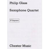 GLASS P. SAXOPHONE QUARTET