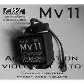 MICRO PIEZO VIOLON FWF SYSTEME MV11