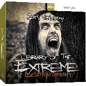 TOONTRACK TT151 METAL LIBRARY OF THE EXTREME 2 MIDI