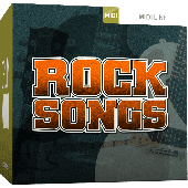 TOONTRACK TT153 ROCK SONGS MIDI
