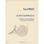 PROUST P. LE PETIT KOPPRASCH COR