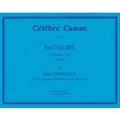 PACHELBEL J. CANON ORGUE