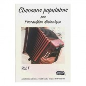 CHANSONS POPULAIRES VOL 1 ACCORDEON DIATONIQUE