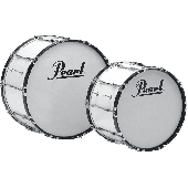 """PEARL GROSSE CAISSE COMPETITOR 20x14"""" PURE WHITE"""