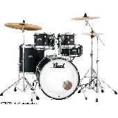 "PEARL DECADE MAPLE DMP984C-227 JAZZ 18"" 4 FUTS SATIN SLATE BLACK"