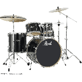 "PEARL EXL725PC-248 EXPORT LACQUER STANDARD 22"" 5 FUTS BLACK SMOKE"