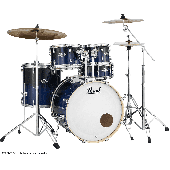 "PEARL EXL725SPC-257 EXPORT LACQUER ROCK 22"" 5 FUTS SEA BLUE FADE"