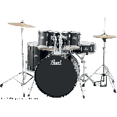 PEARL ROADSHOW ROCK 22 5FUTS JET BLACK