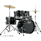 PEARL ROADSHOW JUNIOR 18 4FUTS JET BLACK