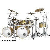 PEARL MASTER MAPLE RESERVE ROCK 3 FUTS BOMBAY GOLD SPARKLE MRV904XEPC-347