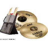 "SABIAN 25006XB1 PACK CRASH AAX XPLOSION 16""18"" + HOUSSE STICK FLIP"