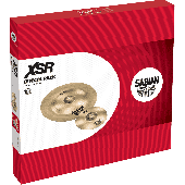 "SABIAN XSR5005EB SET HARMONIQUE XSR EFFETS 10""-18"""