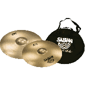 "SABIAN XSR5006B1 CRASH XSR PACK FAST 16"" & 18"" + HOUSSE CYMBALE"