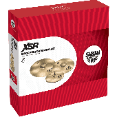 "SABIAN XSR5009B SET HARMONIQUE XSR ROCK PERFORMANCE 14""-16""-20"""