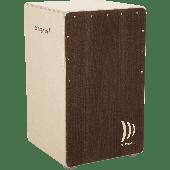 CAJON SCHLAGWERK 2 IN ONE CP424 TREASURE BOX CHENE VIEILLI
