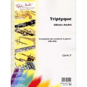 ANDRE O. TRIPTYQUE TROMPETTE DE CAVALERIE