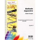 CREPIN A. BALLADE EQUESTRE TROMPETTE DE CAVALERIE