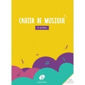 CAHIER DE MUSIQUE 12 PORTEES
