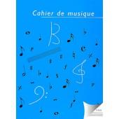 CAHIER DE MUSIQUE 14 PORTEES SPIRALE