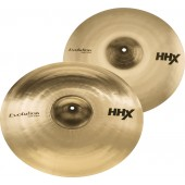 "SABIAN 15004XEB PACK HHX HARMONIQUE EVOLUTION CRASH 17"" 19"""
