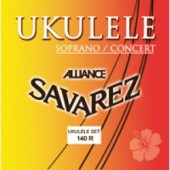 JEU DE CORDES UKULELE SOPRANO/CONCERT SAVAREZ 140R