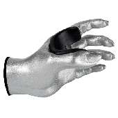 SUPPORT MURAL GUITARE GRIP FEMALE SILVER LEFT GG012