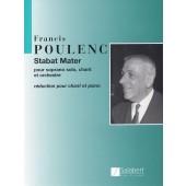 POULENC F. STABAT MATER SOPRANO SOLO