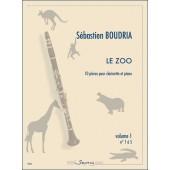 BOUDRIA S. LE ZOO VOL 1 CLARINETTE