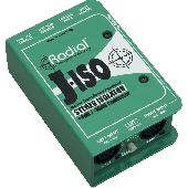 BOITE DE DIRECT CONVERTISSEUR STEREO ISOLATOR J-ISO