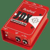 BOITE DE DIRECT RADIAL DI ACTIVE / SIMULATEUR DE HP JDX