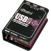 BOITE DE DIRECT RADIAL DI USB USB-PRO