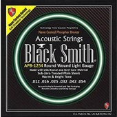 JEU DE CORDES ACOUSTIQUE BLACK SMITH AOT-PB1254 12/54