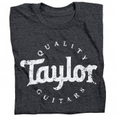 T-SHIRT TAYLOR AGED LOGO DK GRY TAILLE L