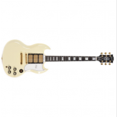 GIBSON CUSTOM SHOP SG CUSTOM CLASSIC WHITE GLOSS M2M HISTORIC GOLD