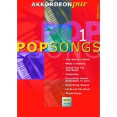 AKKORDEON PUR POP SONGS 1 ACCORDEON