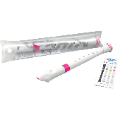 FLUTE A BEC SOPRANO NUVO BLANCHE ET ROSE