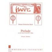 BACH J.S. PRELUDE BWV 1006A HARPE