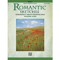 MIER M. ROMANTIC SKETCHES PIANO BOOK 1