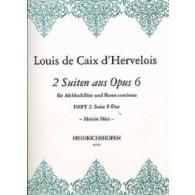 CAIX D'HERVELOIS L. SUITEN AUS OPUS 6 VOL 2 FLUTE