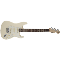 FENDER JEFF BECK STRATOCASTER OLYMPIC WHITE ROSEWOOD