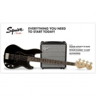 PACK BASSE SQUIER PJ BASS R15V3 BLACK