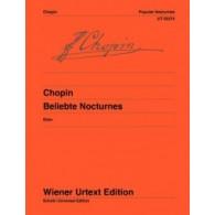 CHOPIN F. NOCTURNES POPULAIRES PIANO