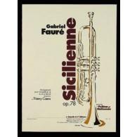 FAURE G. SICILIENNE OP 78 TROMPETTE ET PIANO